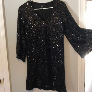 Sequin dress-perfect for holidays!